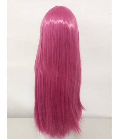 Pink Wig Long