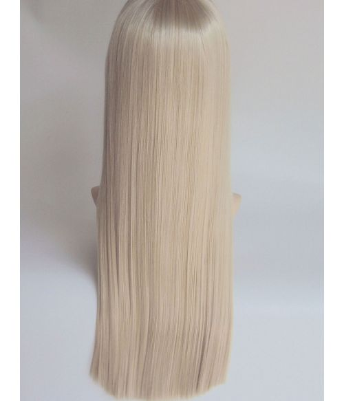 Platinum Blonde Wig Long
