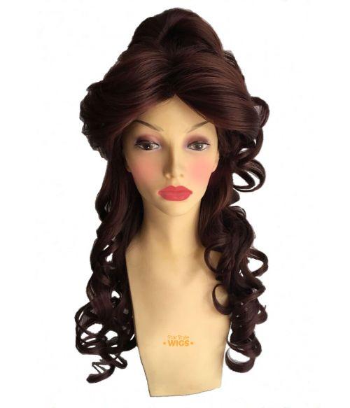 Princess Belle Costume Wig