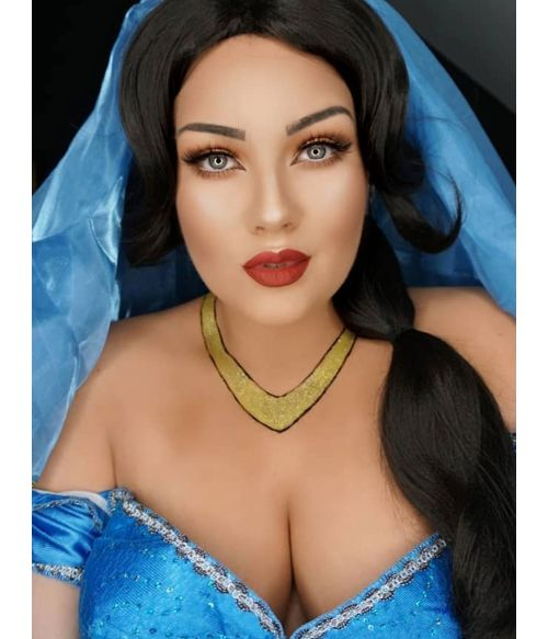 Princess Jasmine Wig UK