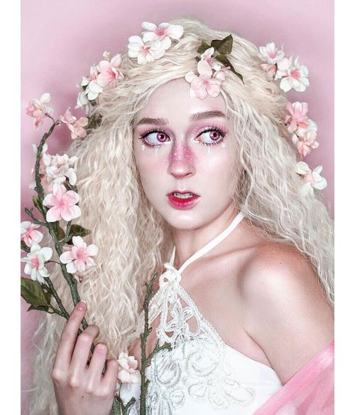 Princess Wig Blonde Long Wavy Fairytale