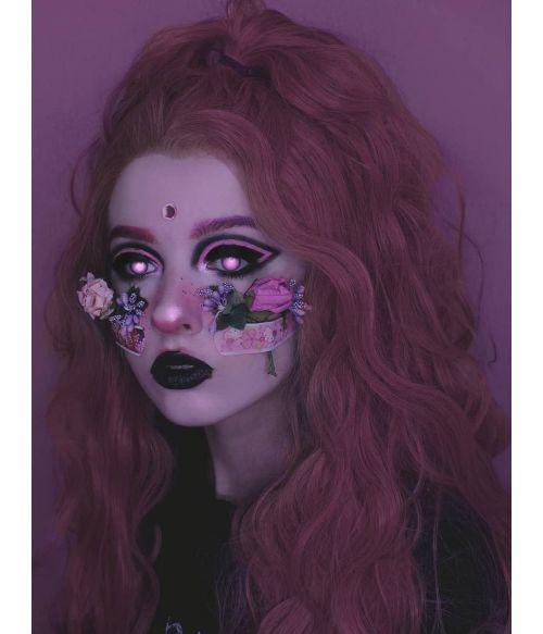 Purple Pink Wig