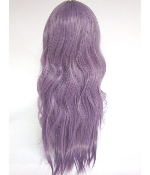 Purple Wig Lavender Long