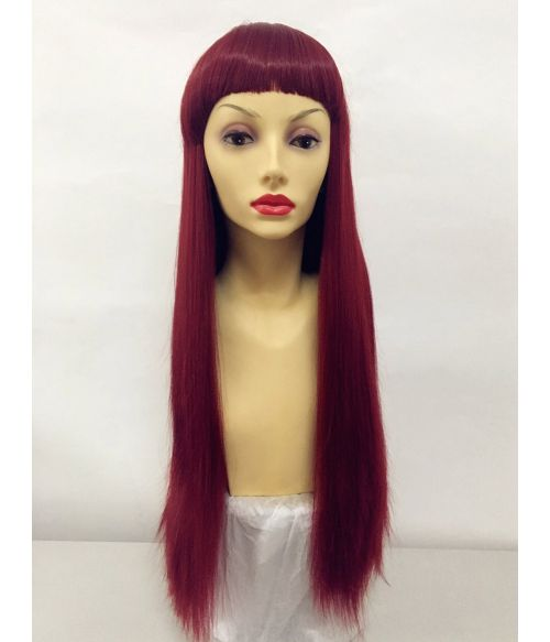 Red Wig Long