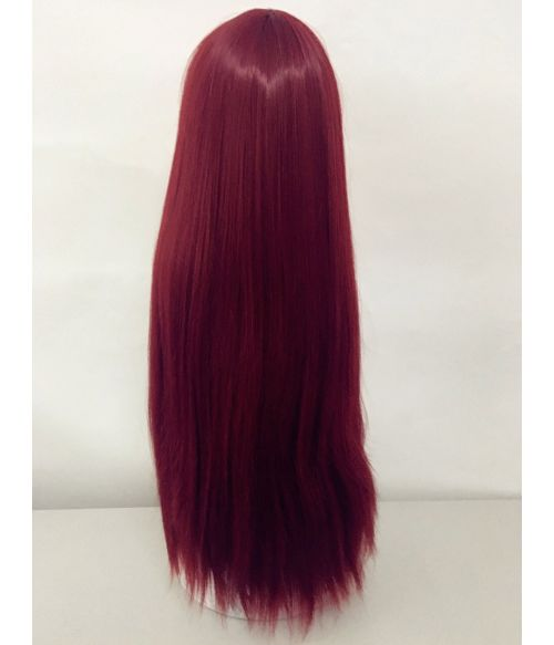 Red Wig Straight