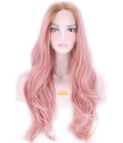 Rose Gold Lace Front Wig