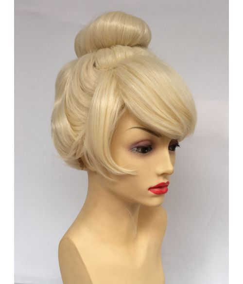 Top Knot Tinkerbell Wig