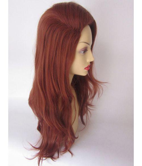 Vintage Wig 1960s Red