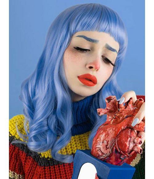 Vintage Wig Blue 1950s