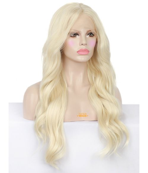 White Blonde Lace Front Wig