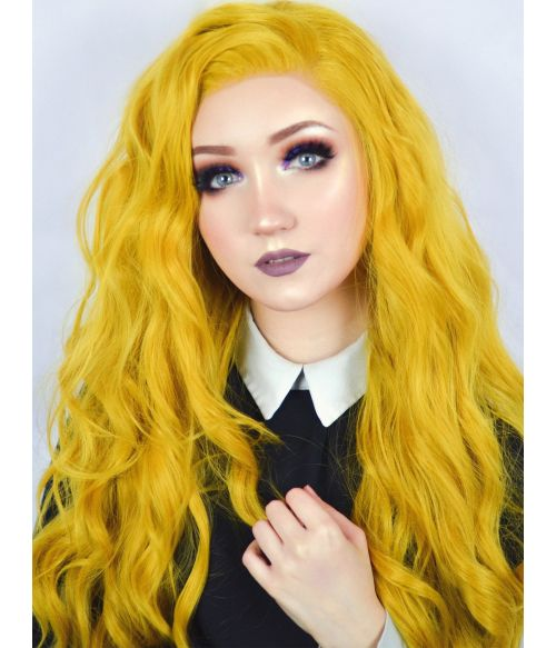 Yellow Wig Lace Front