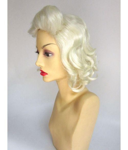 1950s Wig Blonde Short