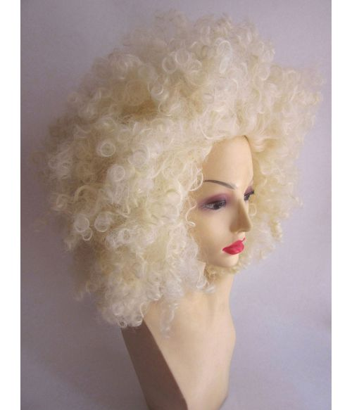 70s Wig Blonde Afro