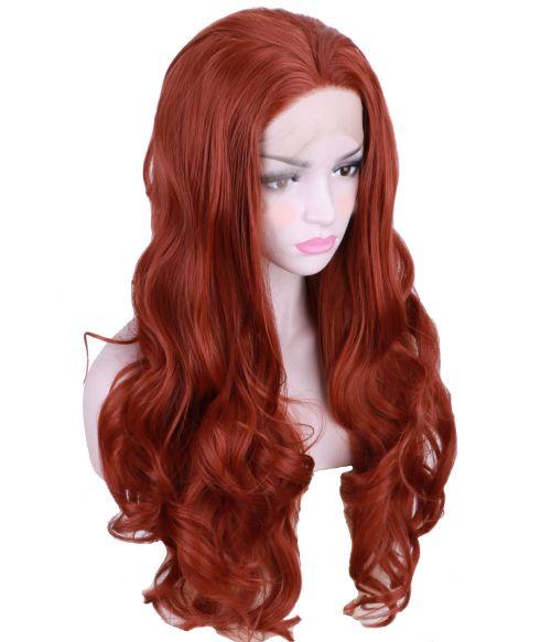Auburn Wig Red