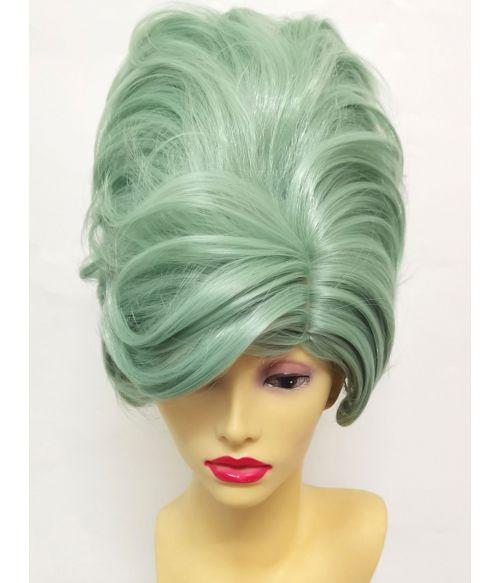 Beehive Hair Wig Green