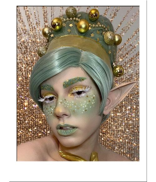 Beehive Wig Green