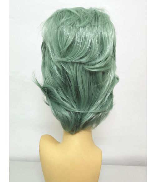 Beehive Wig Pastel Green Coloured