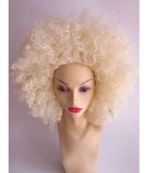 Blonde Afro Wig Curly