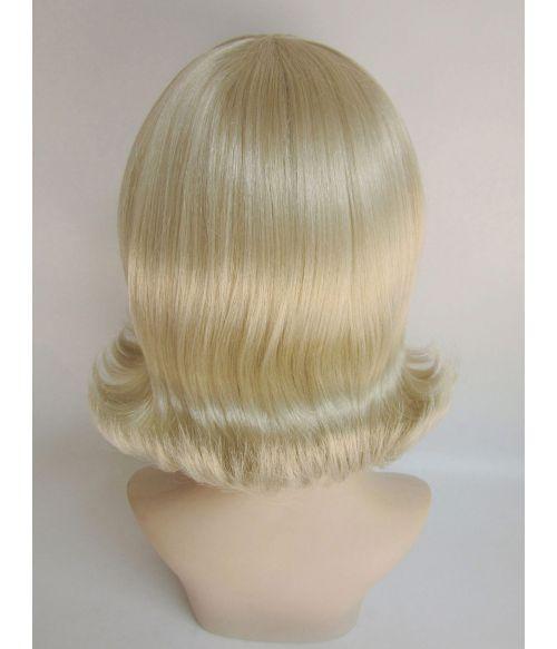 Blonde Bob Wig 1950s