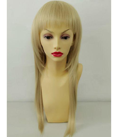 Blonde Fashion Mullet Wig
