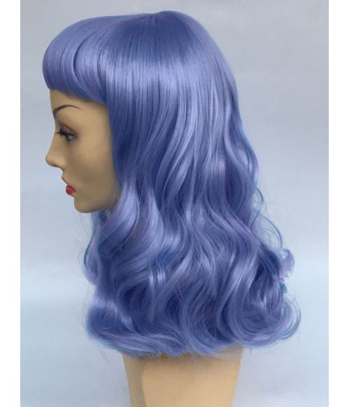 Blue Wig Pin Up