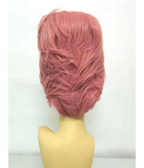 Bouffant Wig Pink