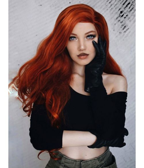Copper Red Wig Lace Front