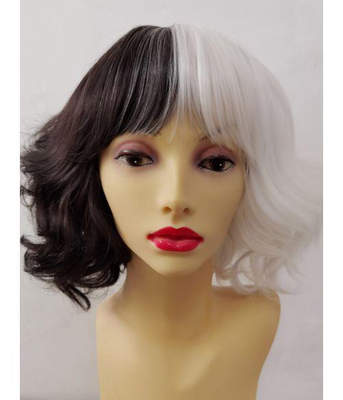 Cruella Movie Wig Emma Stone Hair