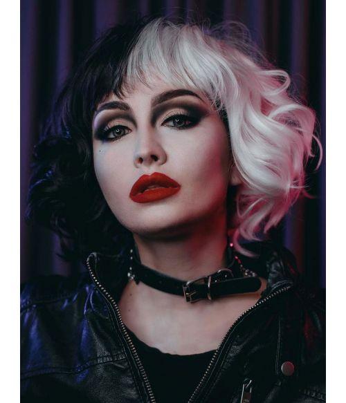 Cruella Cosplay Wig Emma Stone