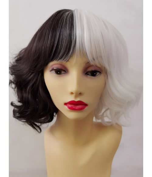 Cruella Wig Movie Short Curly
