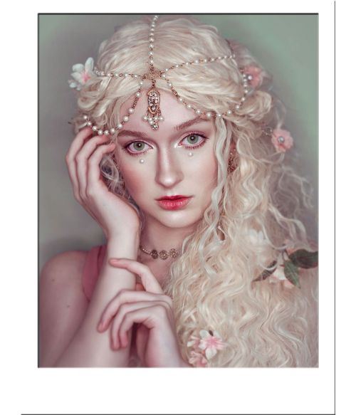 Fairy Wig Blonde Long Curly Cosplay