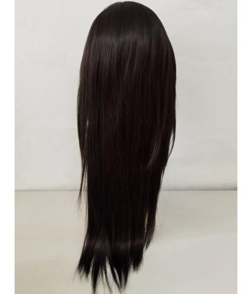 Fashion Mullet Wig Black