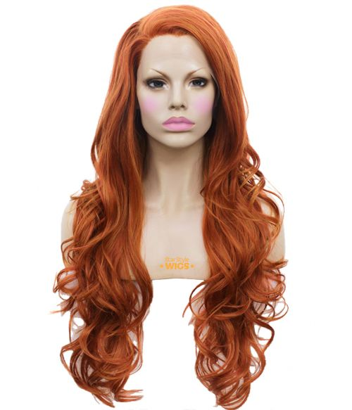 Copper Lace Front Wig