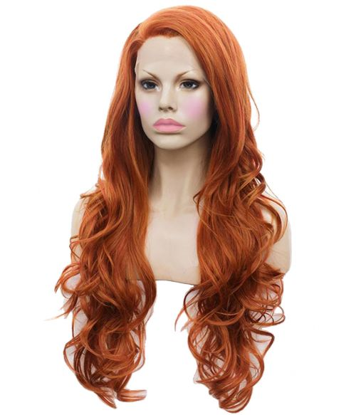 Ginger Lace Front Wig Red