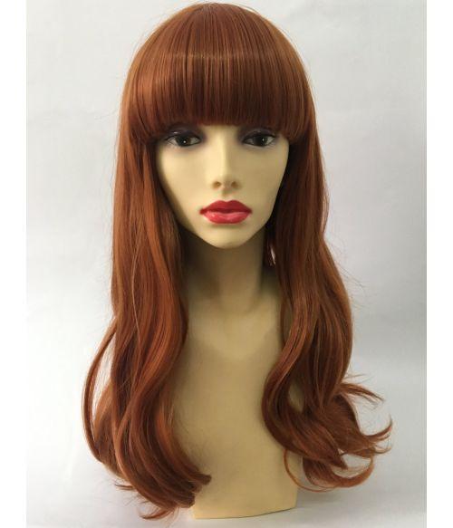 Ginger Wig Long