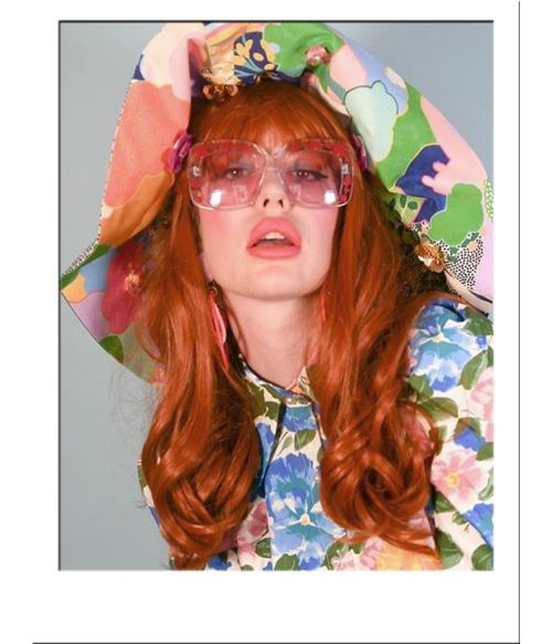 Ginger Wig With Bangs