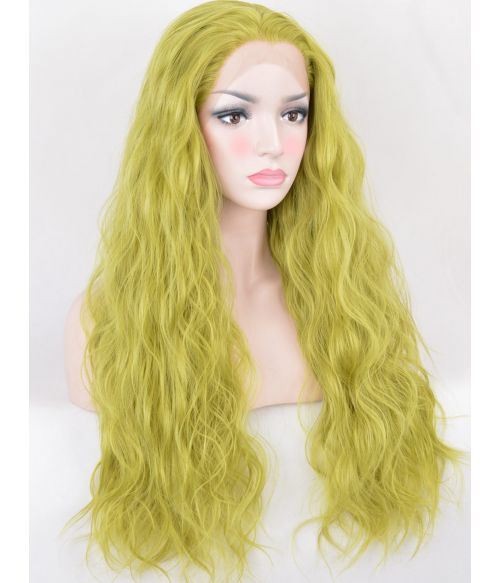 Green Wig Lace Front