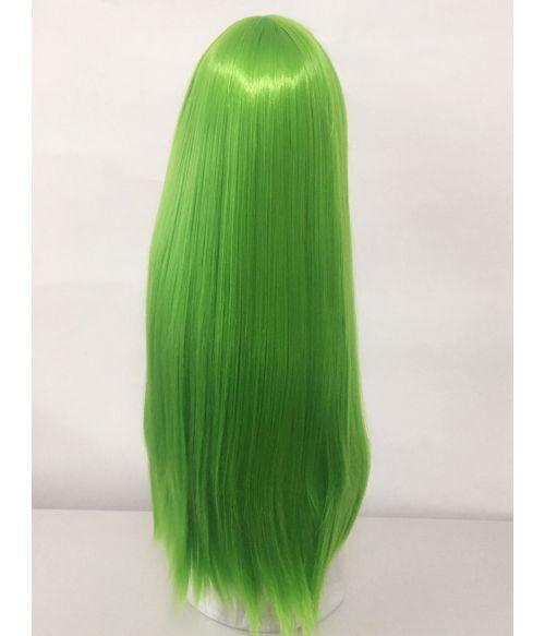 Green Wig Long