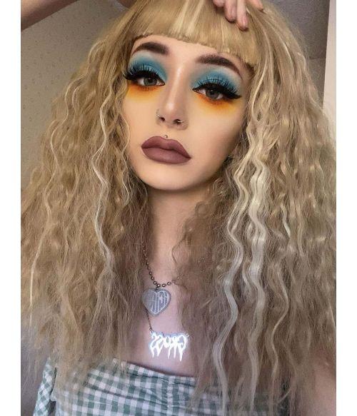 Grunge Wig Blonde
