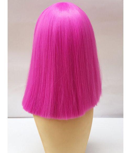 Hot Pink Wig Bob