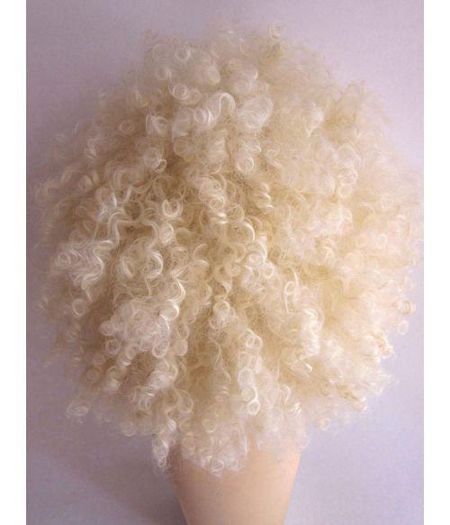Large Blonde Afro Wig
