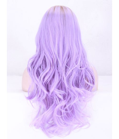 Lilac Wig Purple Lace Front
