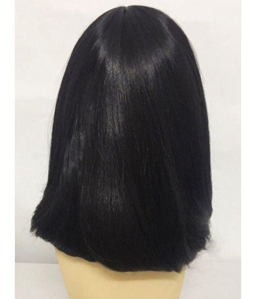 Long Black Bob Wig