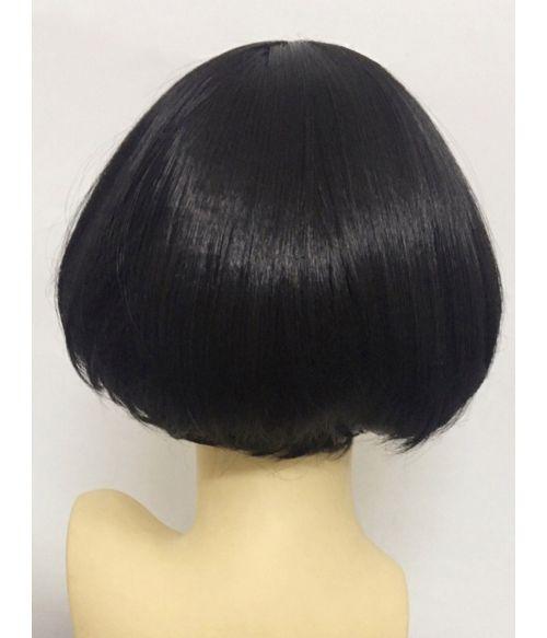 Long Pixie Cut Wig Black