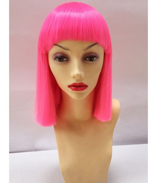 Neon Wig With Bangs