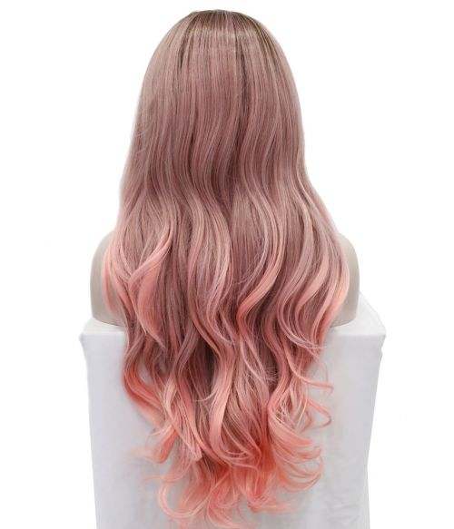 Ombre Wig Pink Lace Front