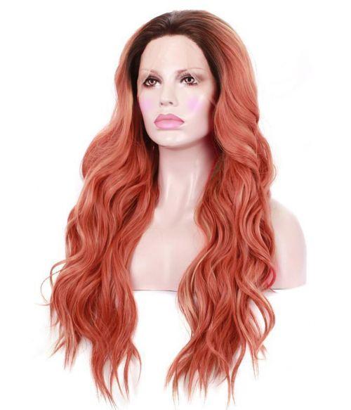 Orange Wig Lace Front