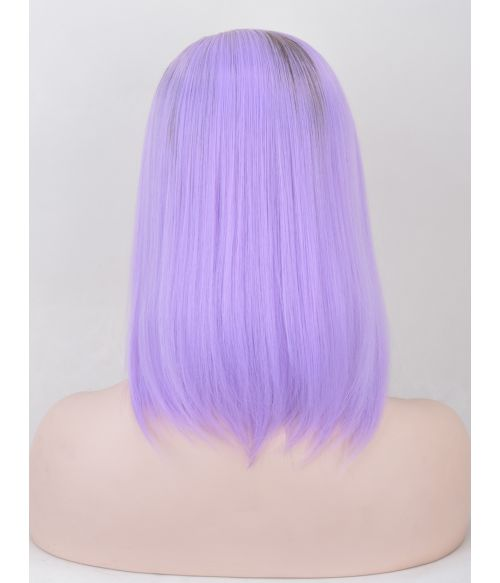 Pastel Purple Wig Bob