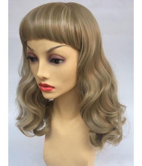 Pin Up Hair Wig Blonde