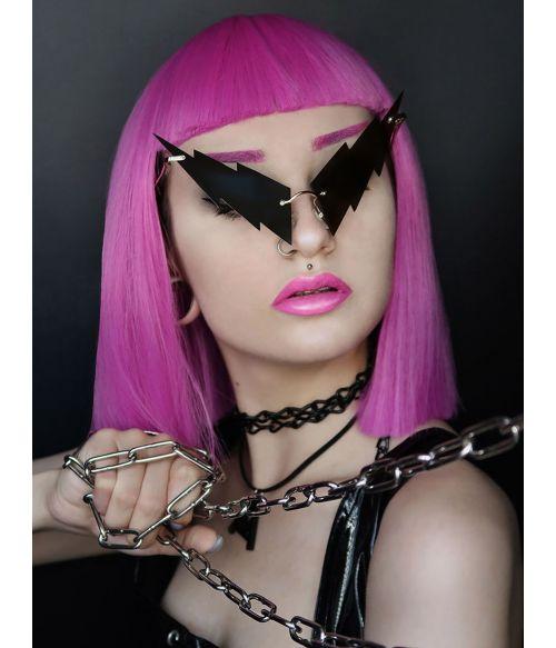 Pink Wig Bob Magenta